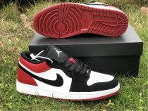 """Authentic Air Jordan 1 Low """"Black Toe"""""""