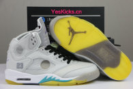 Authentic OFF-WHITE x Air Jordan 5 New