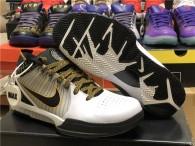 Undefeated x Nike Kobe 4 White Black