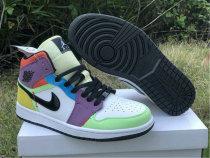 """Authentic Air Jordan 1 Mid """"Multicolor"""""""