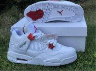 "Authentic Air Jordan 4 ""Red Metallic"""