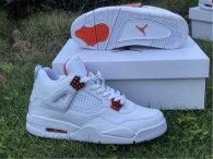 """Authentic Air Jordan 4 """"Orange Metallic"""""""