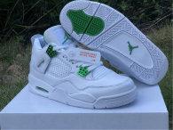 """Authentic Air Jordan 4 """"Green Metallic"""""""