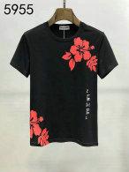 Palm Angels short round collar T-shirt M-XXXL (116)