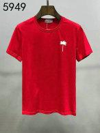 Palm Angels short round collar T-shirt M-XXXL (98)