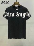 Palm Angels short round collar T-shirt M-XXXL (80)