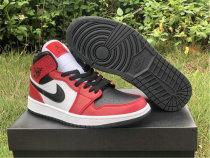 """Authentic Air Jordan 1 Mid """"Chicago Black Toe"""