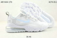 Nike Air Max 270 React Women Shoes (35)