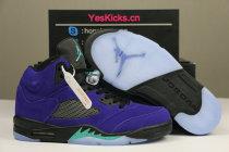 "Authentic Air Jordan 5 ""Alternate Grape"""