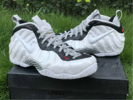 Authentic Nike Air Foamposite Pro White/Black-University Red