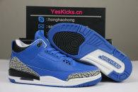 Authentic Ai Jordan 3 Blue