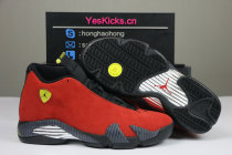 "Authentic Air Jordan 14 ""Ferrari"""