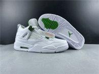 "Perfect Air Jordan 4 ""Green Metallic"""