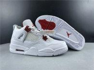 Perfect Air Jordan 4 White/Red