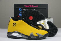 "Authentic Air Jordan 14 ""Reverse Ferrari"""