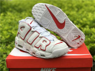 Authentic Nike Air More Uptempo Red/White