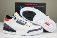 "Authentic Air Jordan 3 SE Denim ""Fire Red"""