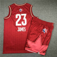 NBA All-Star #23 James Suit-Red