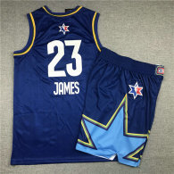 NBA All-Star #23 James Suit-Blue