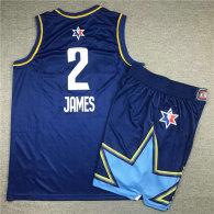NBA All-Star #2 James Suit-Blue
