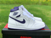 "Authentic Air Jordan 1 High OG WMNS ""Court Purple"""