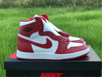 Authentic Air Jordan 1 High Varsity Red/White