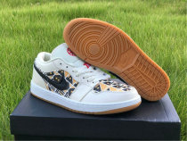 "Authentic Air Jordan 1 Low ""Quai 54"""