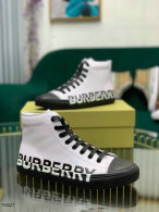 Burberry High Top Shoes (2)