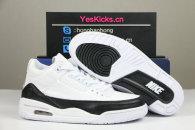 Authentic Fragment x Air Jordan 3 White/Black-White