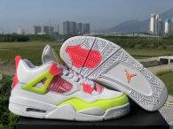 Air Jordan 4 Women Shoes AAA (54)