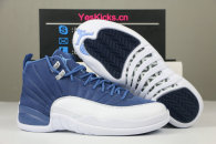 "Authentic Air Jordan 12 ""Indigo"""