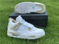 "Authentic Air Jordan 4 GS ""Linen"""