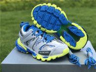 Balenciaga Track Trainers 3.0 Blue/Yellow/Grey