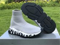 Authentic Balenciaga Speed Trainer BLACK/GREY/WHITE