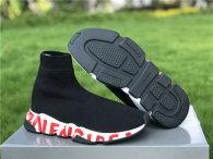 Authentic Balenciaga Speed Trainer BLACK/RED/WHITE