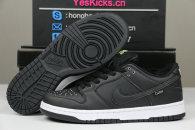Authentic Civilist x Nike SB Dunk Low Black