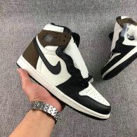 Perfect Air Jordan 1 High OG  Dark Mocha