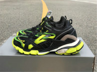Balenciaga Track Trainers 4.0 Black/Fluorescent Yellow