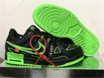 """Authentic OFF-WHITE x Nike Air Rubber Dunk """"Green Strike"""""""