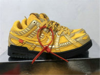 """Authentic OFF-WHITE x Nike Air Rubber Dunk """"University Gold"""""""
