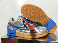 """Authentic OFF-WHITE x Nike Air Rubber Dunk """"University Blue"""""""