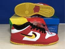 Authentic Nike Dunk Low Red/Yellow Rouge/Jaune GS