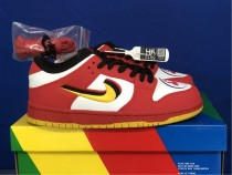 Authentic Nike Dunk Low Red/Yellow Rouge/Jaune