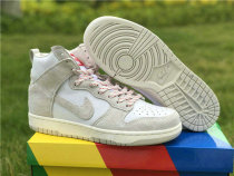 Authentic Nike Dunk High Grey/White/Gris/Blanc