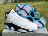 "Authentic Air Jordan 13 ""Dark Powder Blue"""