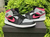 Authentic Air Jordan 1 Mid Pink Shadow