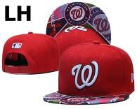 MLB Washington Nationals Snapback Hat (49)