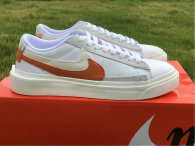 Authentic Nike Blazer Low White/Orange