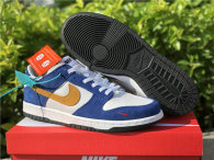 Authentic Kasina x Nike Dunk Low Sail/White-Neptune Green-Industrial Blue