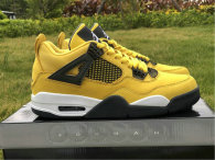 "Authentic Air Jordan 4 ""Lightning"""